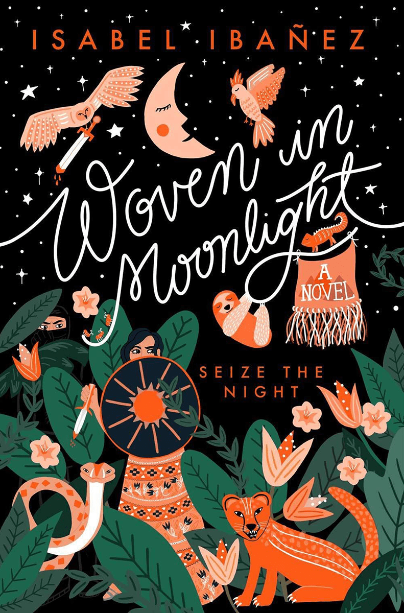 Blog Tour: Woven in Moonlight by Isabel Ibañez (Excerpt + Giveaway!)