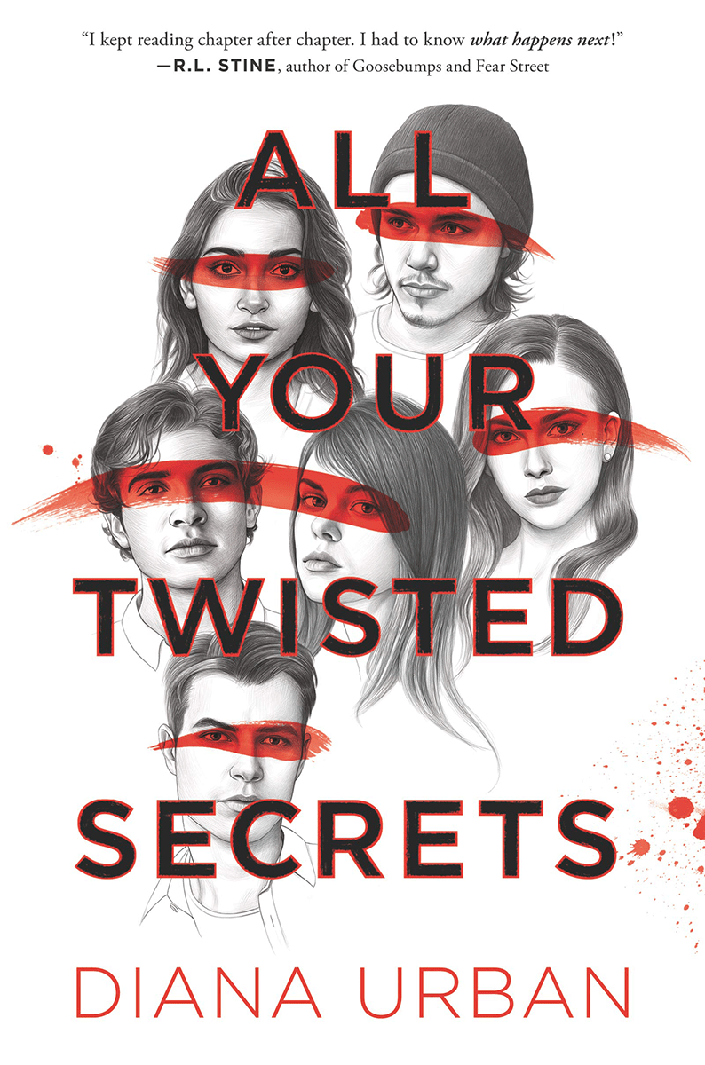 Blog Tour: All Your Twisted Secrets by Diana Urban (Interview + Giveaway!)