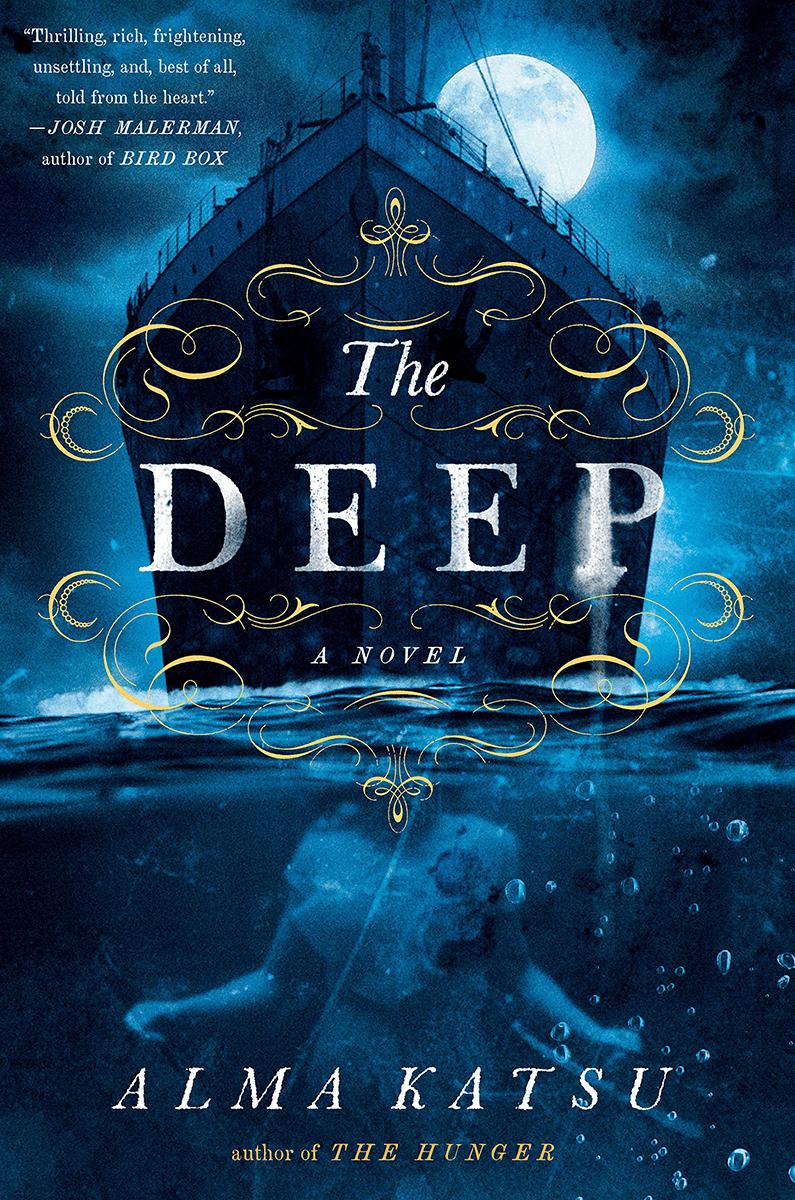 Blog Tour: The Deep by Alma Katsu (Interview + Giveaway!)