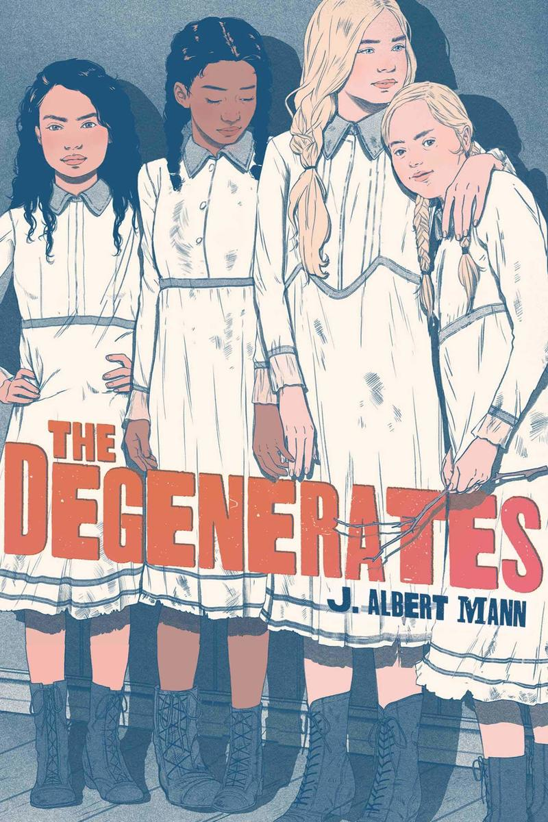 Blog Tour: The Degenerates by J. Albert Mann (Spotlight+ Giveaway!)