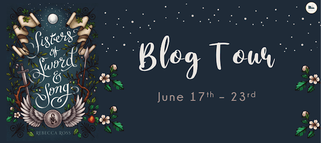 Blog Tour: Sisters of Sword and Song by Rebecca Ross (Interview + Giveaway!)