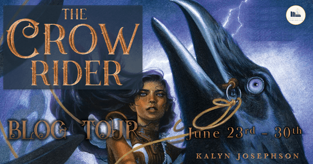 Blog Tour: The Crow Rider by Kalyn Josephson (Interview + Giveaway!)