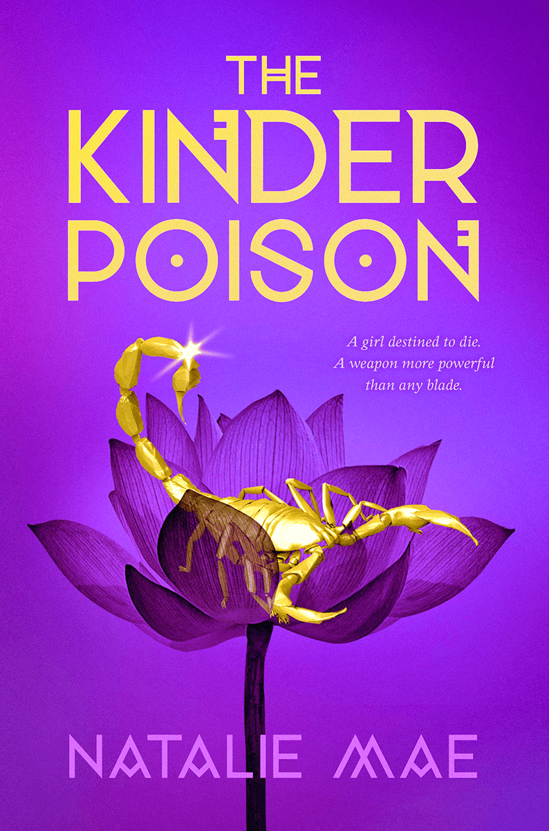 Blog Tour: The Kinder Poison by Natalie Mae (Interview + Giveaway!)