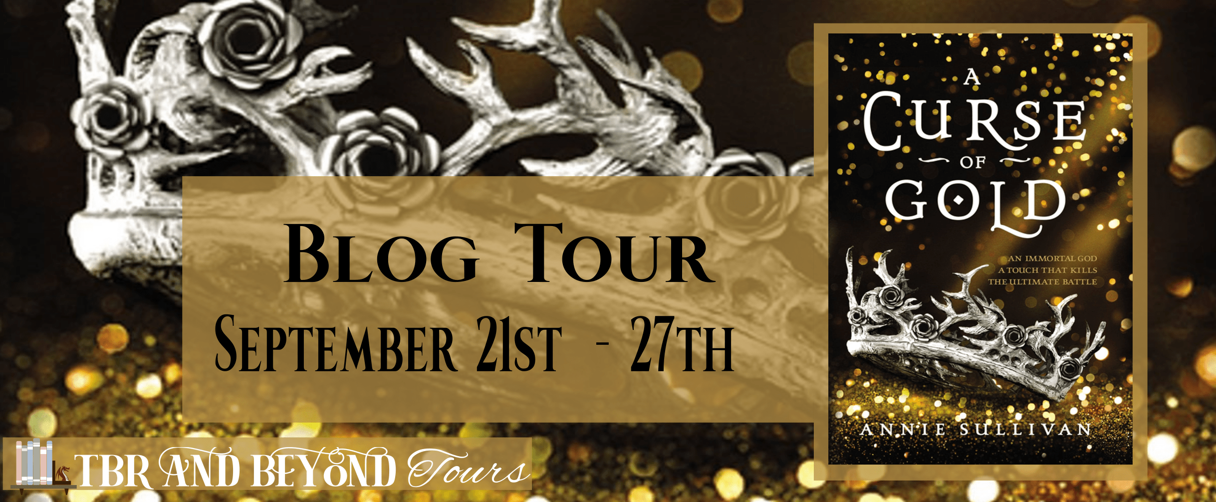 Blog Tour: A Curse of Gold by Annie Sullivan (Quiz + Giveaway!)
