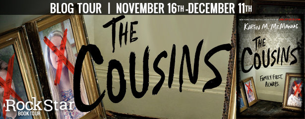 Blog Tour: The Cousins by Karen McManus (Excerpt + Giveaway!)