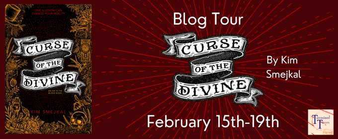 Blog Tour: Curse of the Divine by Kim Smejkal (Interview + Bookstagram!)