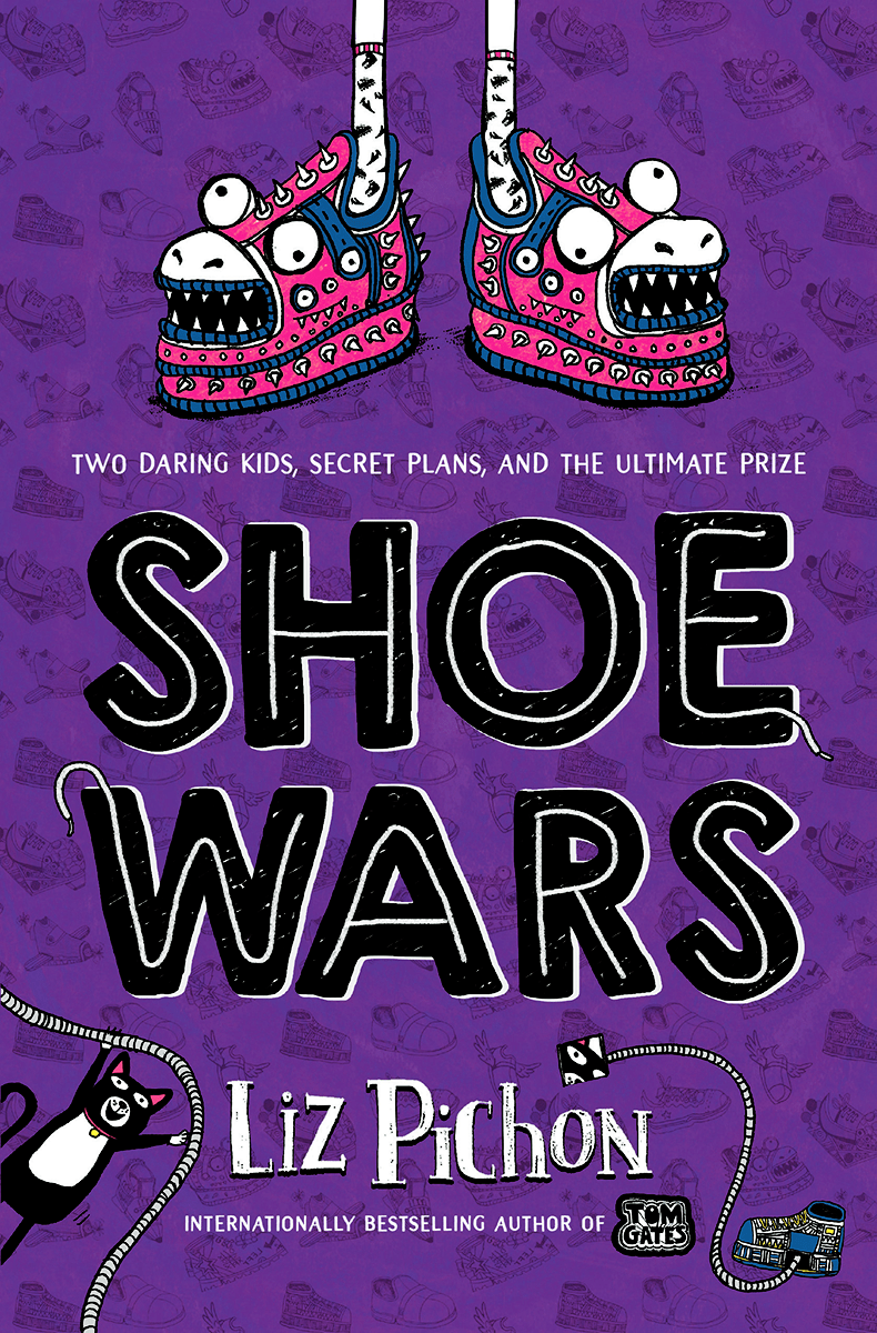 Blog Tour: Shoe Wars by Liz Pichon (Excerpt + Giveaway!)