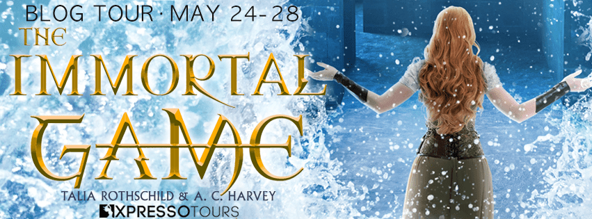 Blog Tour: The Immortal Game by Talia Rothschild and A.C. Harvey (Interview + Giveaway!)