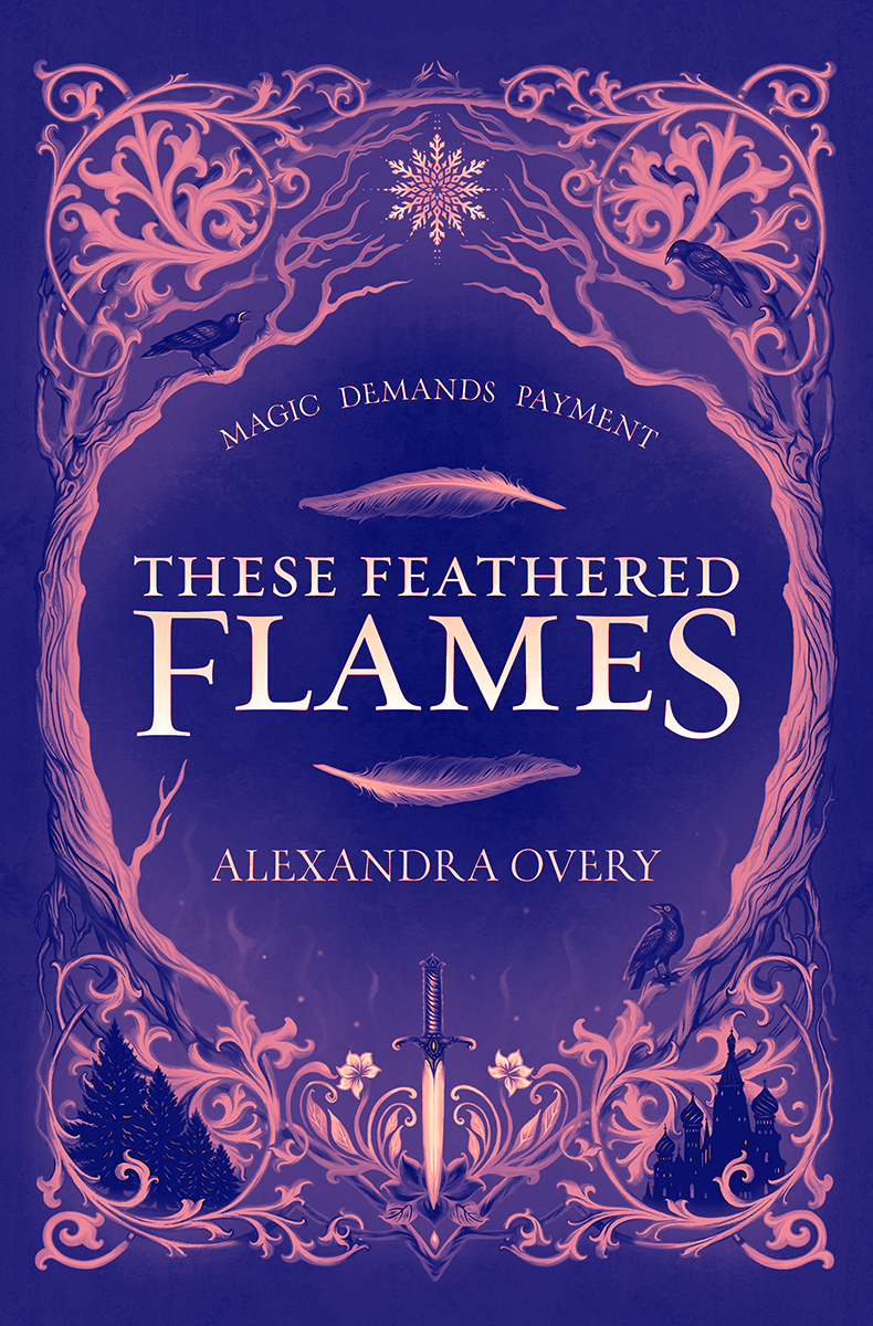 Blog Tour: These Feathered Flames by Alexandra Overy (Interview!)