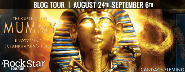 Blog Tour: The Curse of the Mummy by Candace Fleming (Excerpt + Giveaway!)