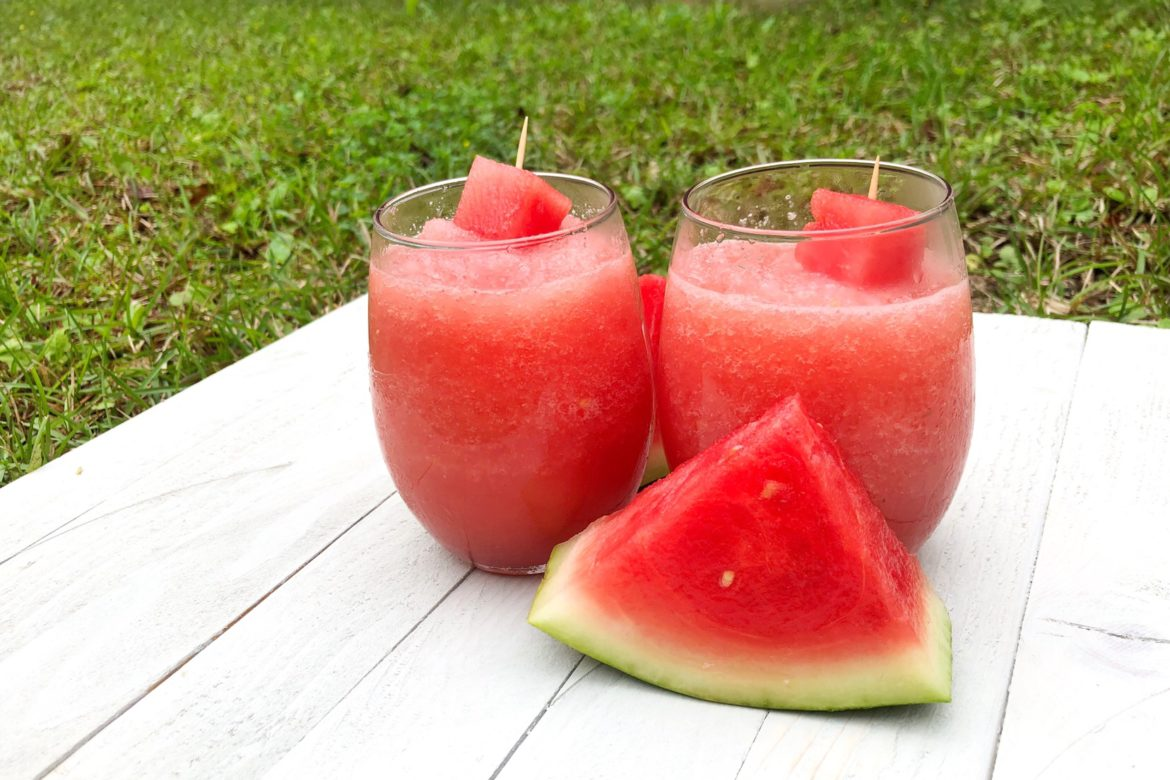 How To Make Disneys Watermelon Cucumber Slushy From Flower And