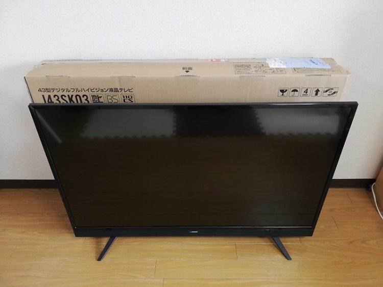 43V型液晶テレビ J43SK03