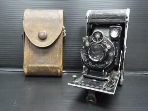 ヴィンテージカメラ Krauss Stuttgart ケース付き ジャンク品