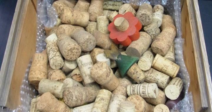 ワイン コルク栓 使用済み 大量セット 中古品