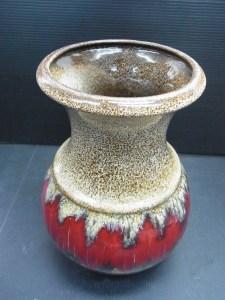 西ドイツ製 シューリッヒ scheurich-KERAMIK 花瓶 壺 花入れ 中古品