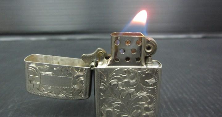 オイルライター ドラゴンフライ DRAGONFLY STERLING950 中古品