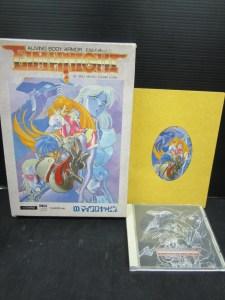 FM-TOWNS CD-ROM ゲーム エルムナイト 中古品