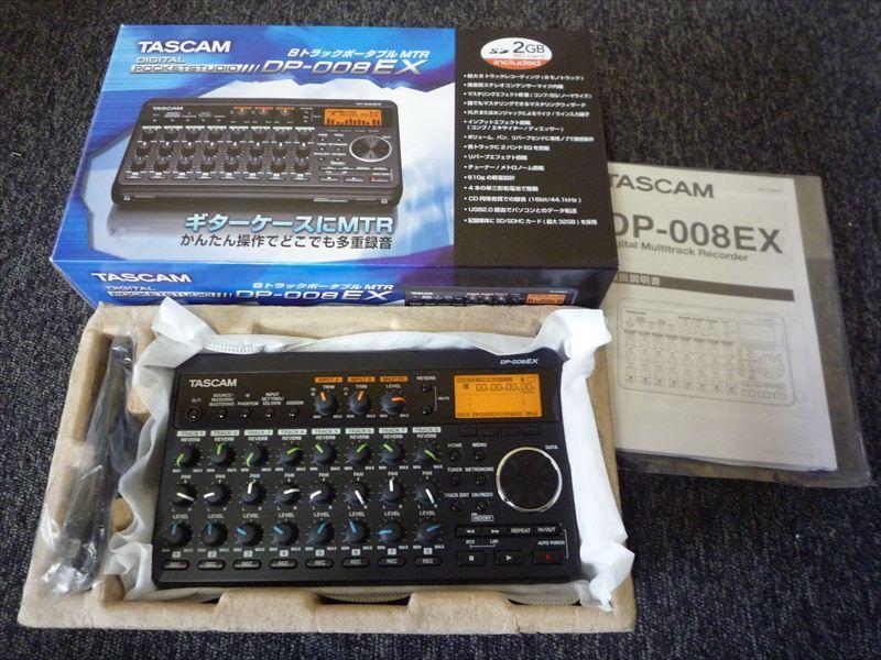 Tascam DP-008EX買取いたしました!のサムネイル