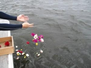 東京湾散骨