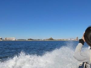 東京ディズニーシー沖での散骨