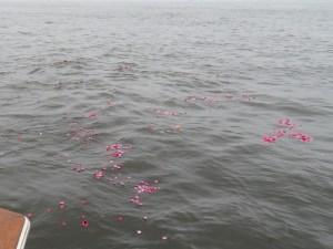 ご指定のピンクのお花
