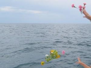 宮古島の海への散骨