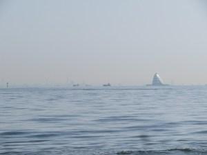 アクアラインと海洋散骨
