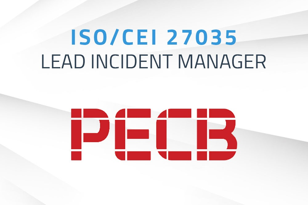 ISO/CEI 27035 Lead Incident Manager