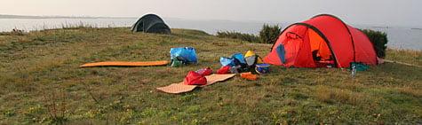 Kanonfin lägerplats på Tobisaflöten
