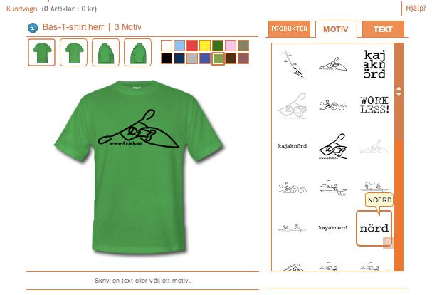 Gör din egen tshirt