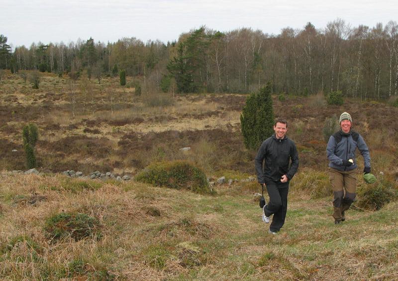 Promenad på Hallandsåsen