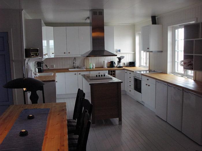 Helt nytt kök för självhushåll, mycket fräscht