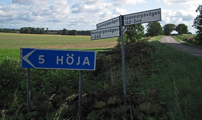 Hmmm... Ingen skylt som berättar var Helsingborg är...