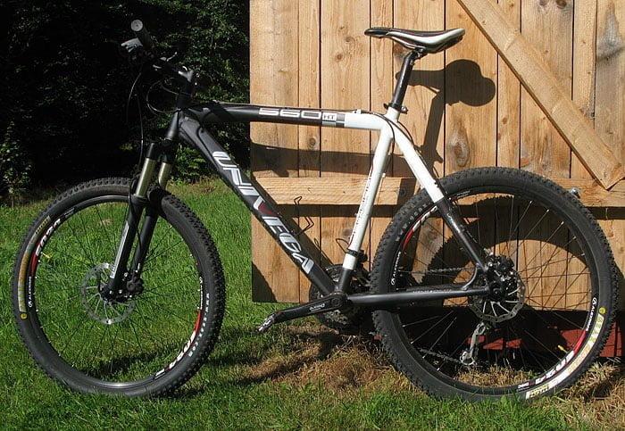 Min bergscykel