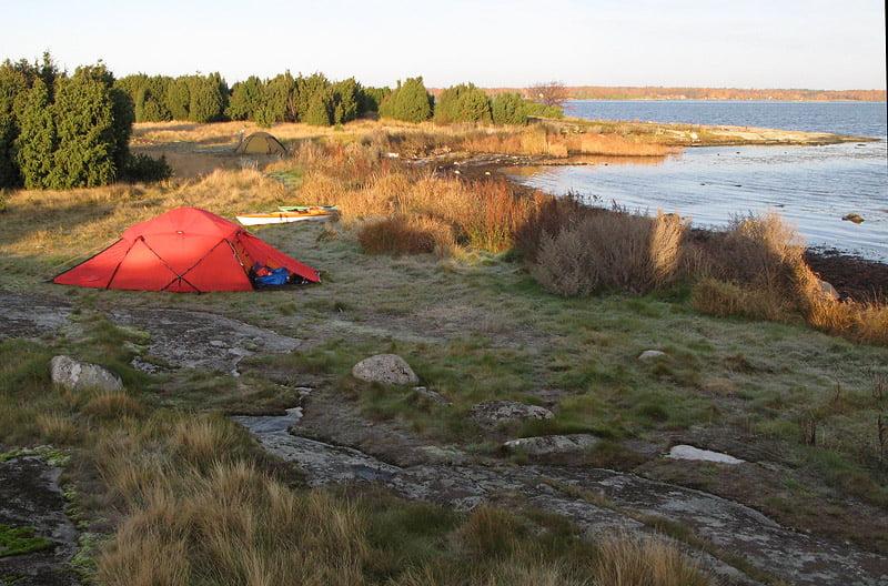 Morgon på Ljungskär