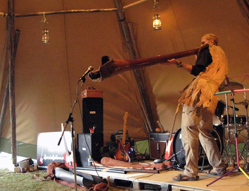 Stor Didgeridoo