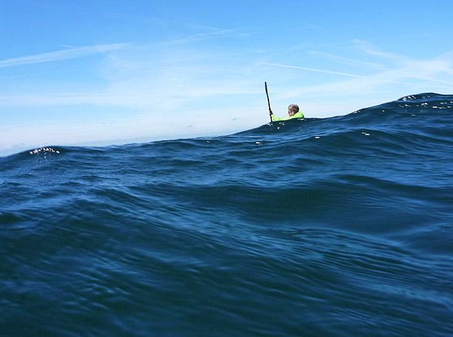 Lite vågor i Öresund