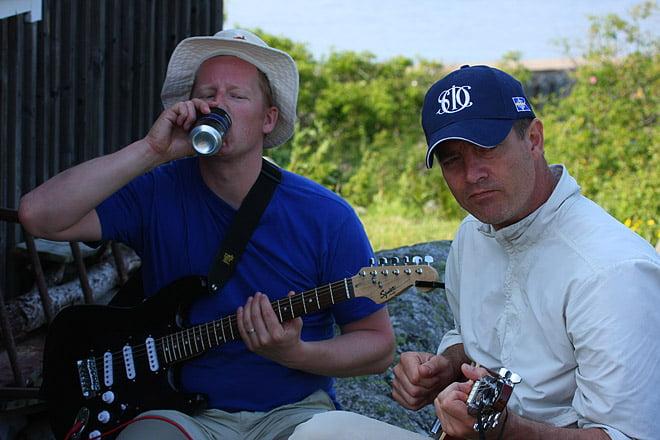 Blueslirare vid Hultet