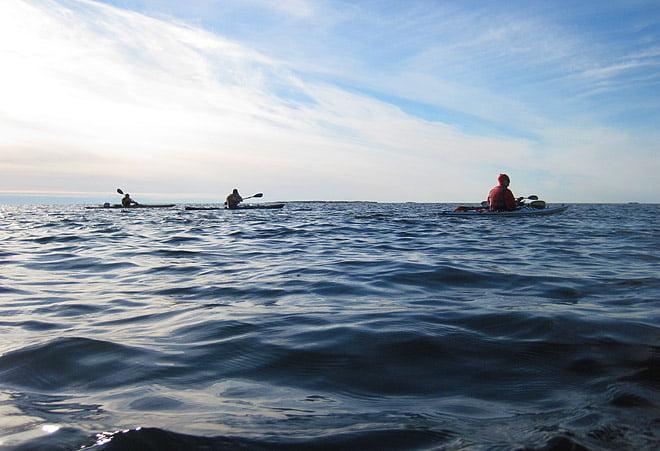 Finväderspaddling i Blekinge östra