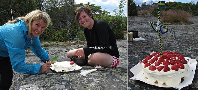 Tårtmakarna Gunnel & Marie | Den färdiga tårtan