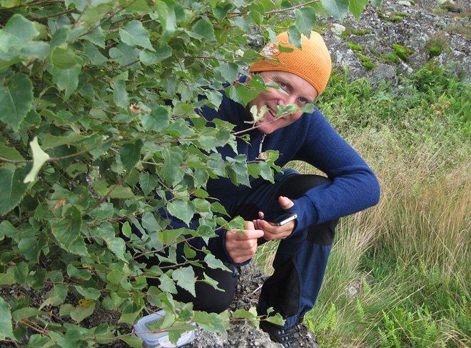geocaching på Tärnö