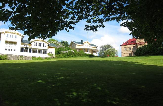 Fina omgivningar vid Gustavsberg