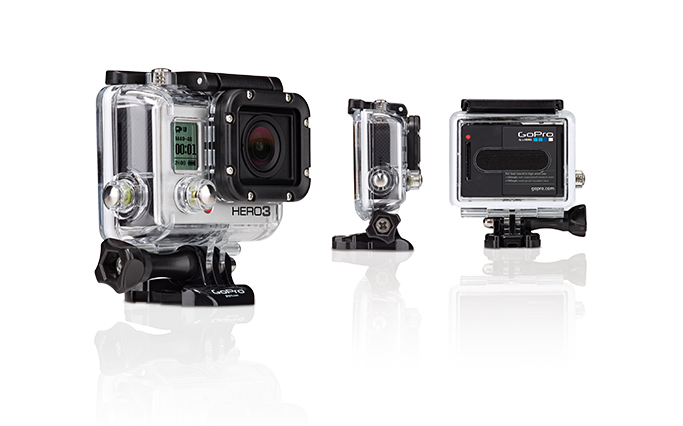 GoPro Hero3 i vattentäta huset