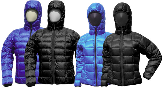 Flash Jackets från Western Mountaineering