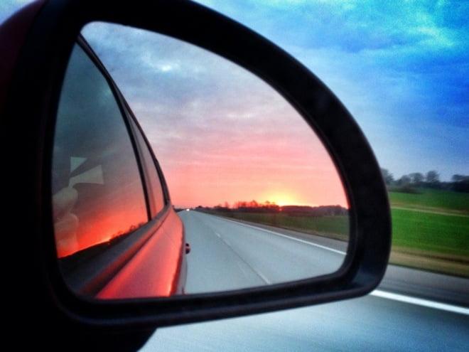 På väg hem till Skåne