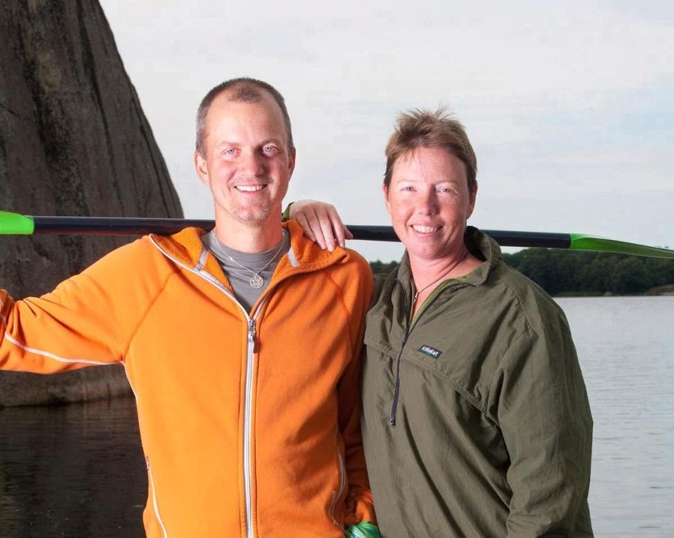 Erik & Pia på Tjärö. Foto: Glenn Mattsing