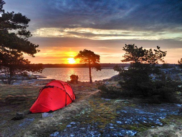 Soluppgång på Långaskär