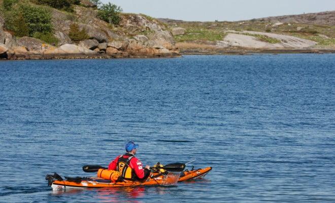 Sören Kjellkvist drar iväg mot Norge