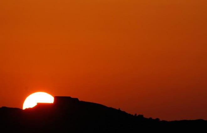 Solnedgång över Kungsö