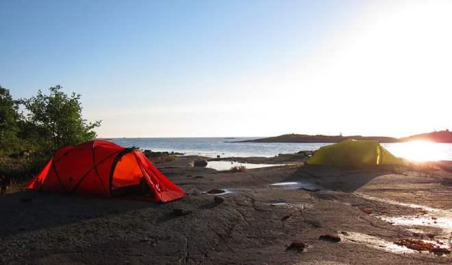 Morgon på Boskär
